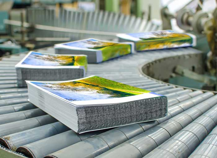 book printing and manufacturing